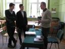 Spotkanie z p. Piotrem Bojarski